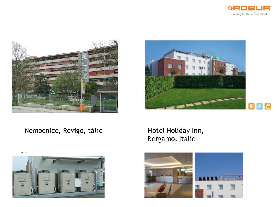 Nemocnice, Rovigo,Itálie Hotel Holiday Inn, Bergamo, Itálie