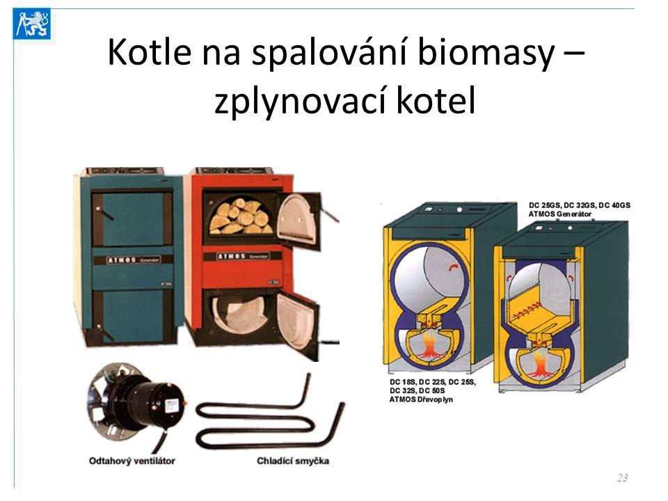 Kotle na spalování biomasy – zplynovací kotel