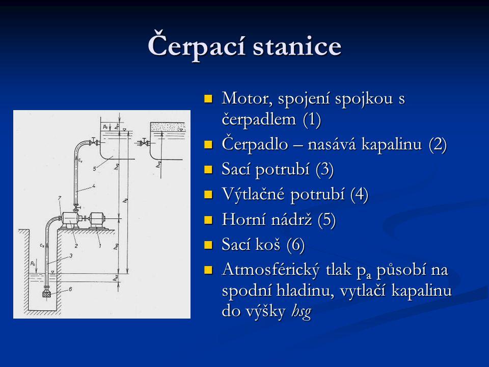 Čerpací stanice Motor, spojení spojkou s čerpadlem (1)