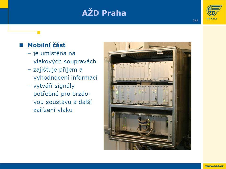 AŽD Praha 10.