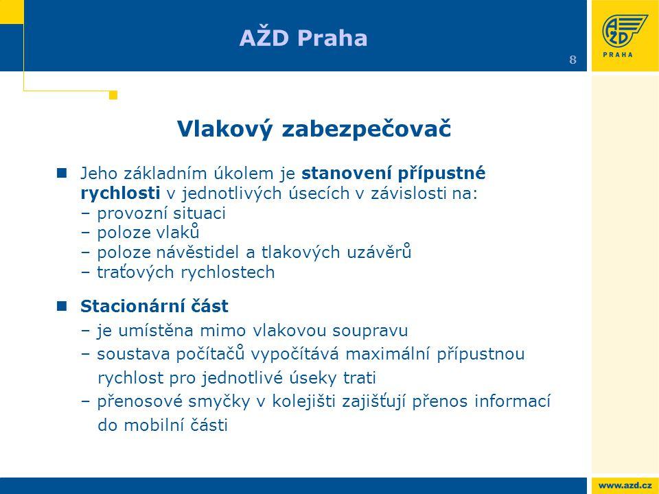 AŽD Praha Vlakový zabezpečovač