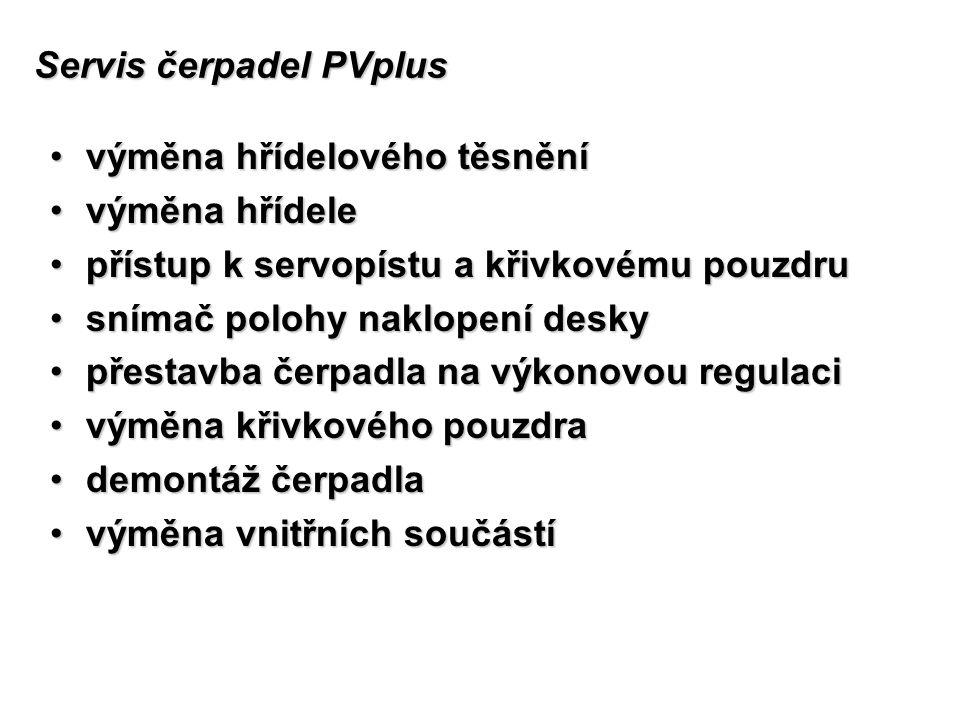 Servis čerpadel PVplus