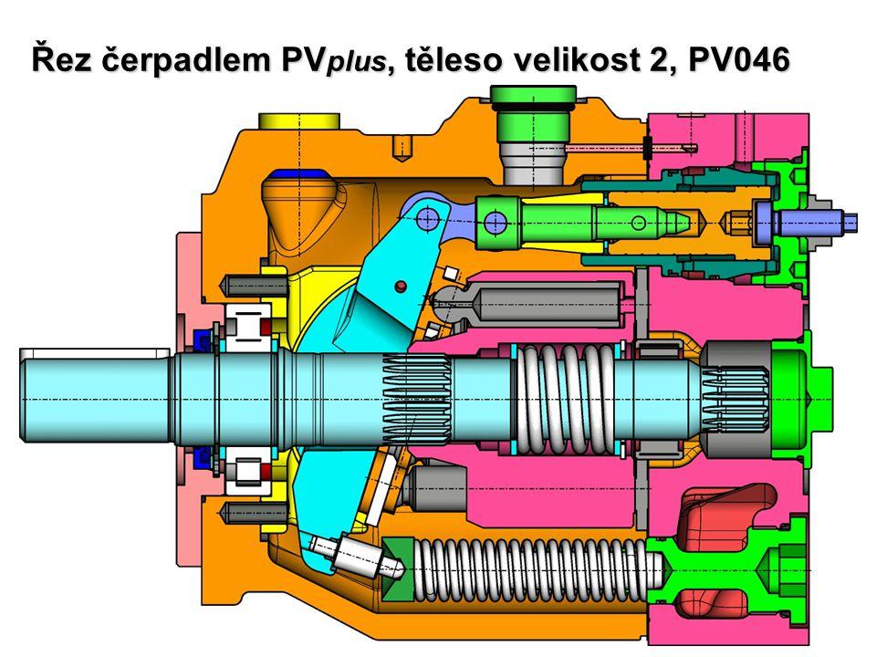 Řez čerpadlem PVplus, těleso velikost 2, PV046