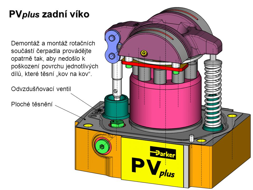 PVplus zadní víko