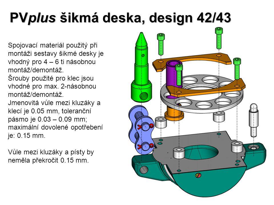 PVplus šikmá deska, design 42/43