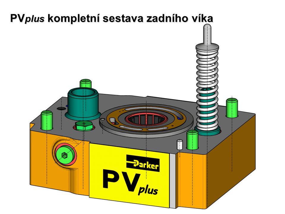 PVplus kompletní sestava zadního víka