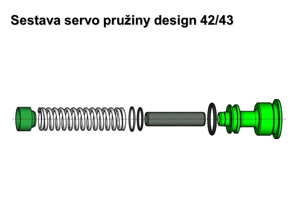 Sestava servo pružiny design 42/43