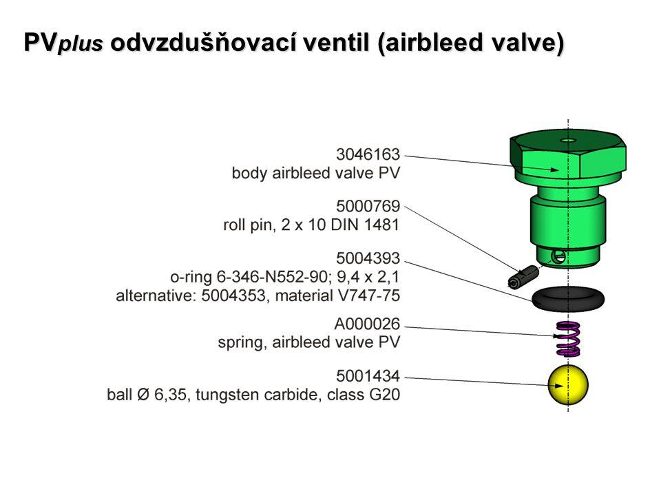 PVplus odvzdušňovací ventil (airbleed valve)