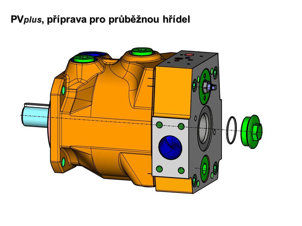 PVplus, příprava pro průběžnou hřídel