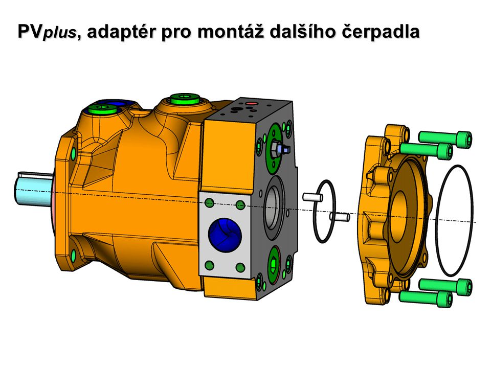 PVplus, adaptér pro montáž dalšího čerpadla