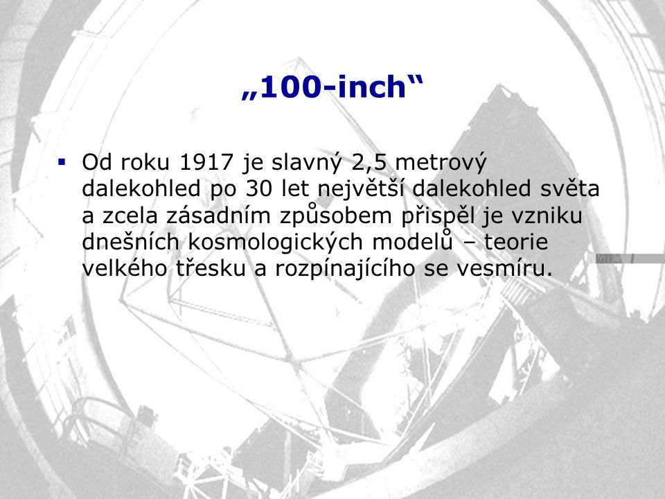 """""""100-inch"""