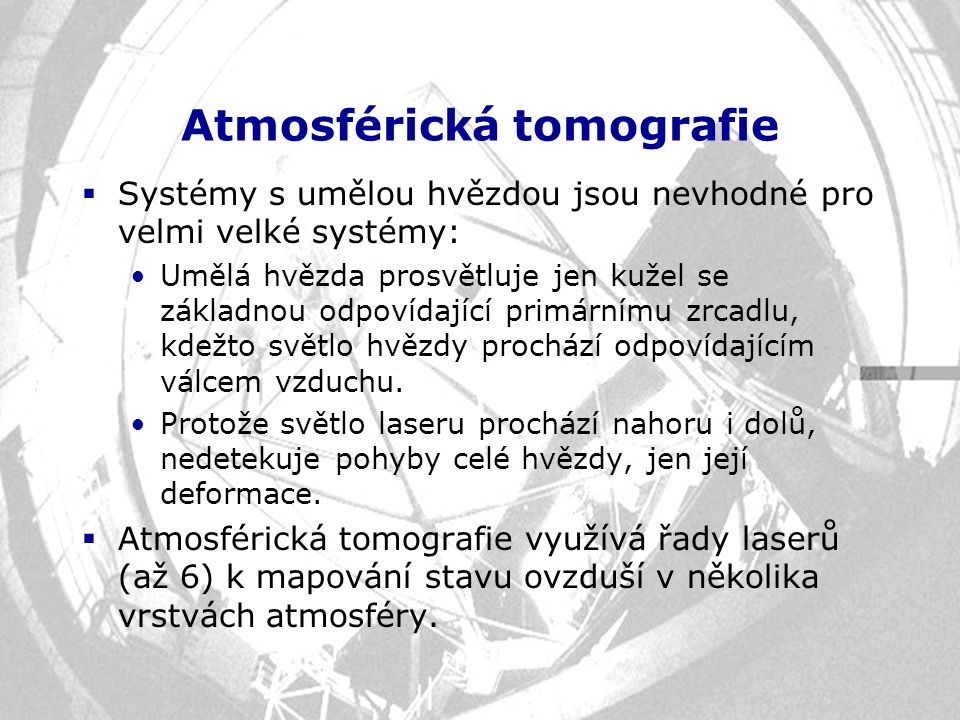 Atmosférická tomografie