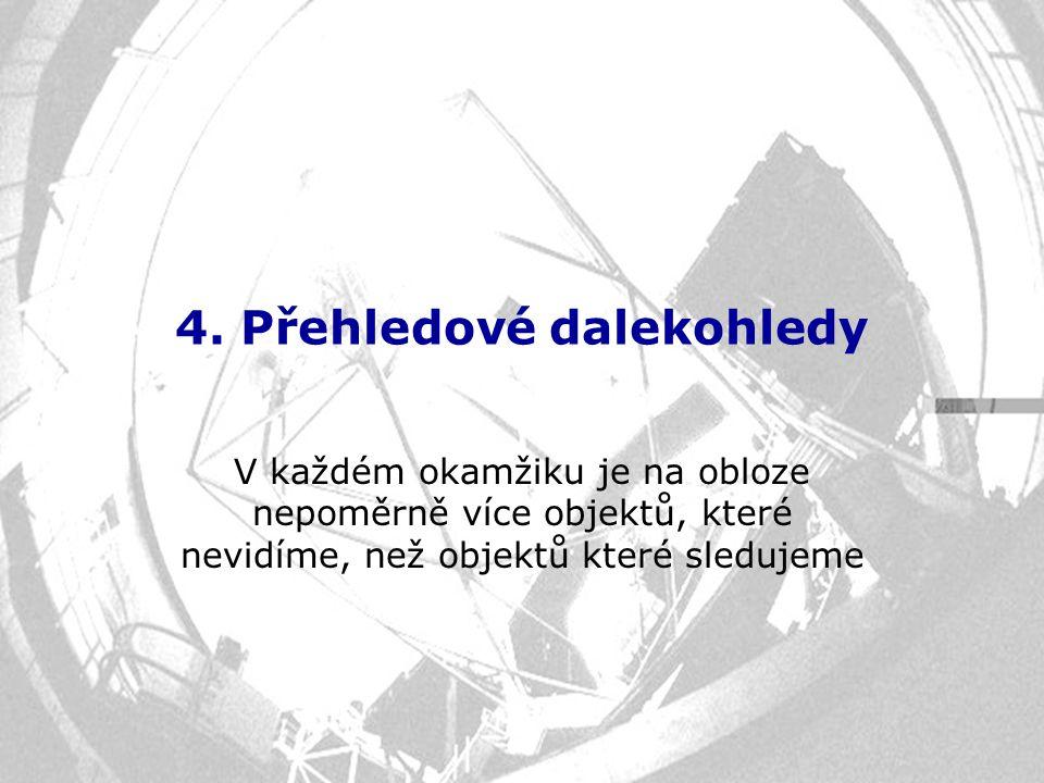 4. Přehledové dalekohledy