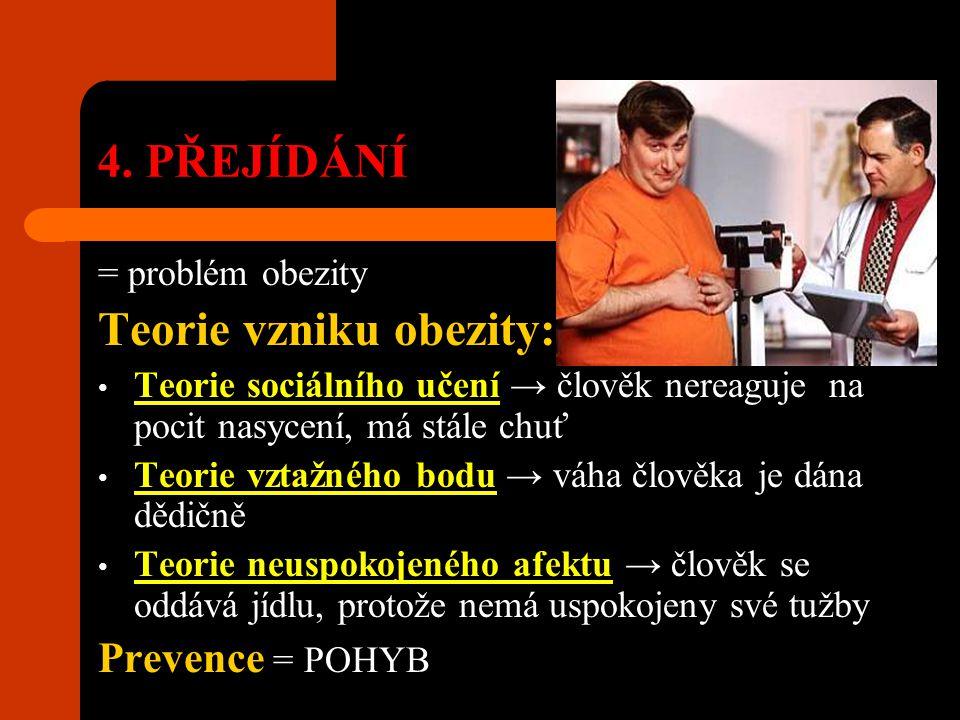 Teorie vzniku obezity: