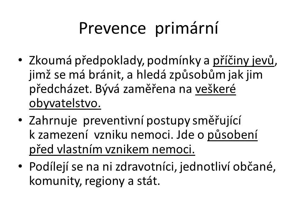 Prevence primární