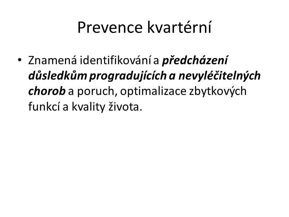 Prevence kvartérní