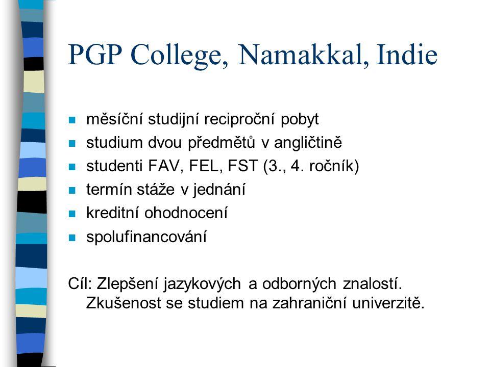 PGP College, Namakkal, Indie