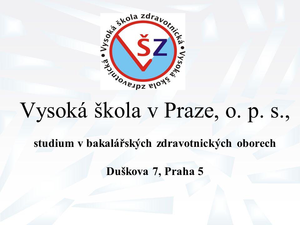Vysoká škola v Praze, o. p. s.,