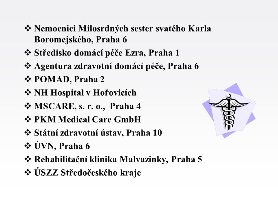 Nemocnici Milosrdných sester svatého Karla Boromejského, Praha 6
