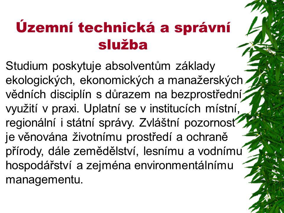 Územní technická a správní služba