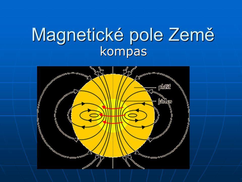 Magnetické pole Země kompas