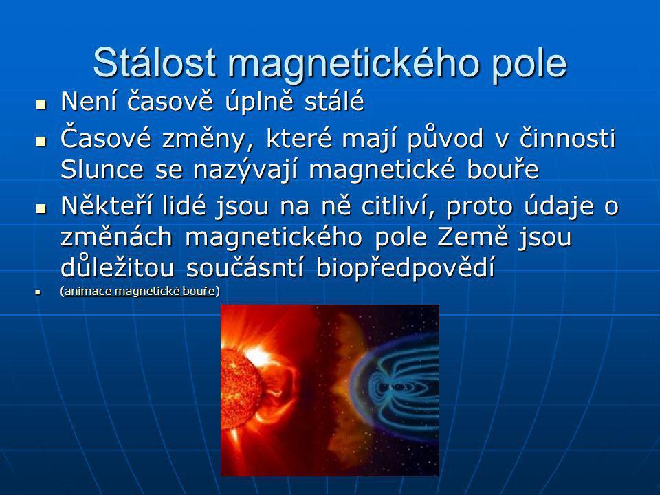 Stálost magnetického pole