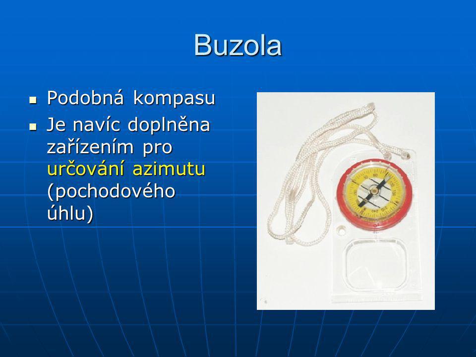 Buzola Podobná kompasu