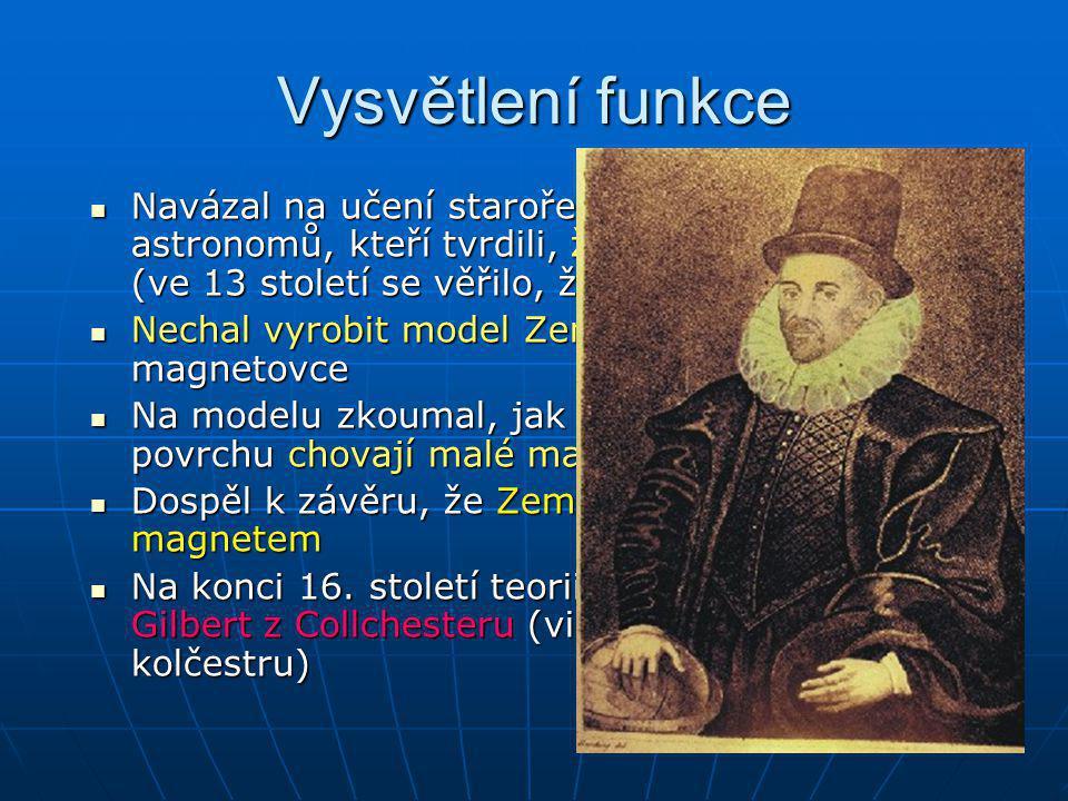 Vysvětlení funkce Navázal na učení starořeckých astronomů, kteří tvrdili, že Země je kulatá (ve 13 století se věřilo, že je plochá)