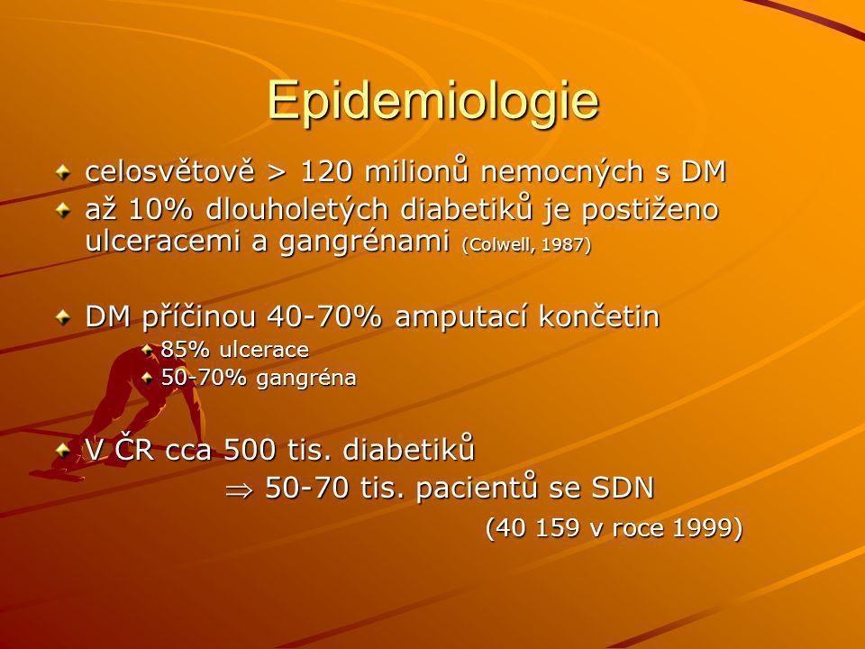 Epidemiologie celosvětově > 120 milionů nemocných s DM