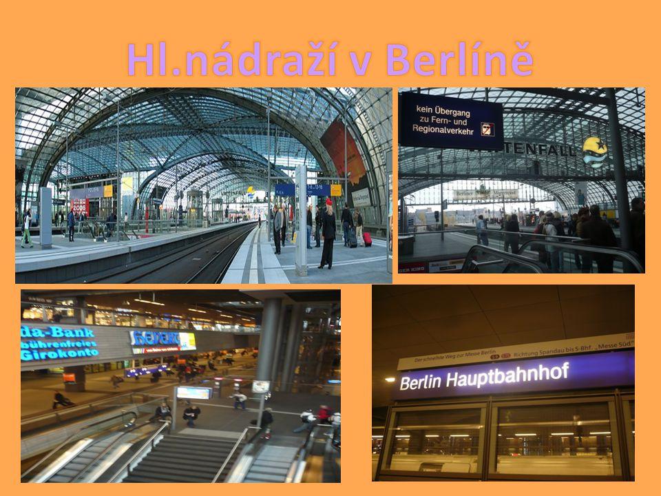 Hl.nádraží v Berlíně