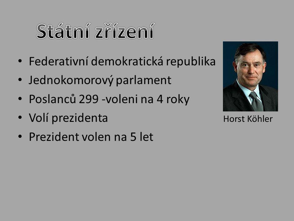 Státní zřízení Federativní demokratická republika