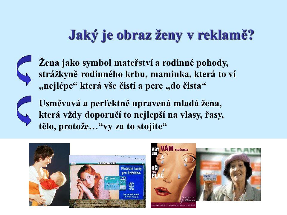 Jaký je obraz ženy v reklamě