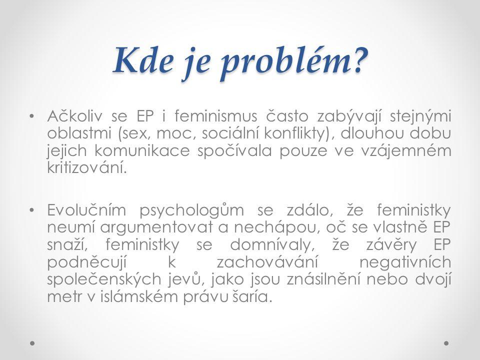 Kde je problém
