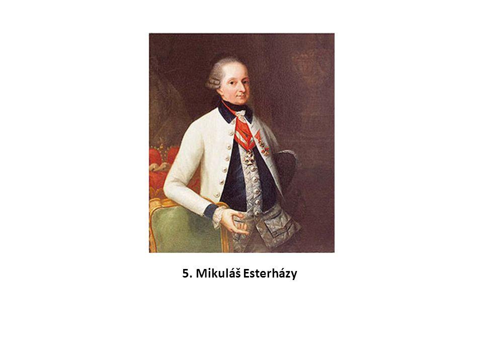 5. Mikuláš Esterházy