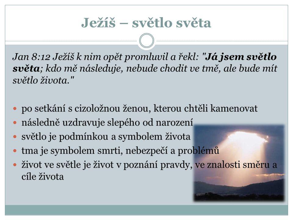 Ježíš – světlo světa