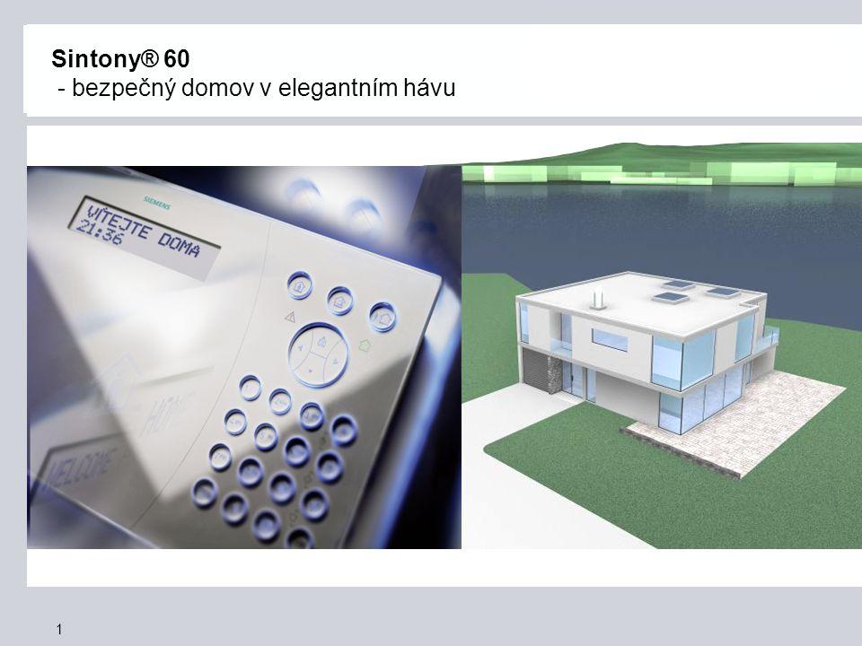 Sintony® 60 - bezpečný domov v elegantním hávu