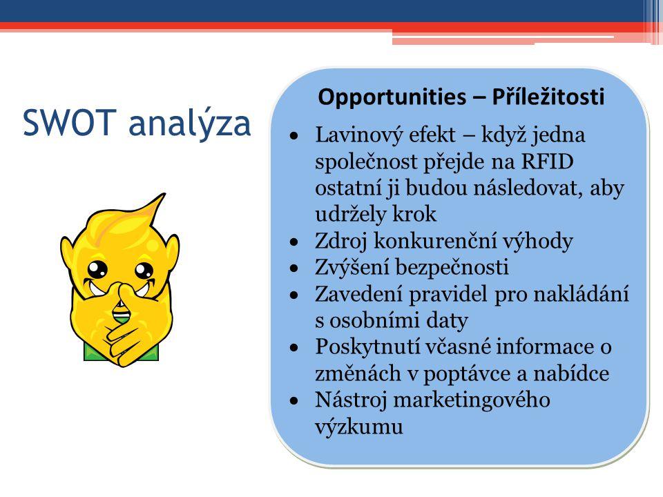 Opportunities – Příležitosti