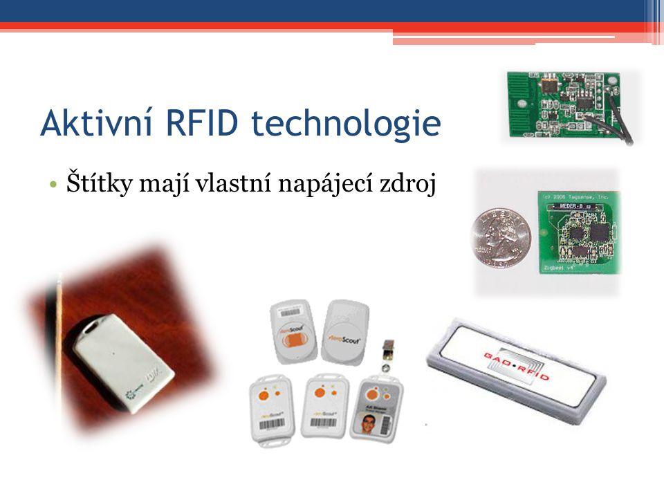 Aktivní RFID technologie