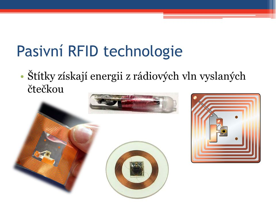 Pasivní RFID technologie