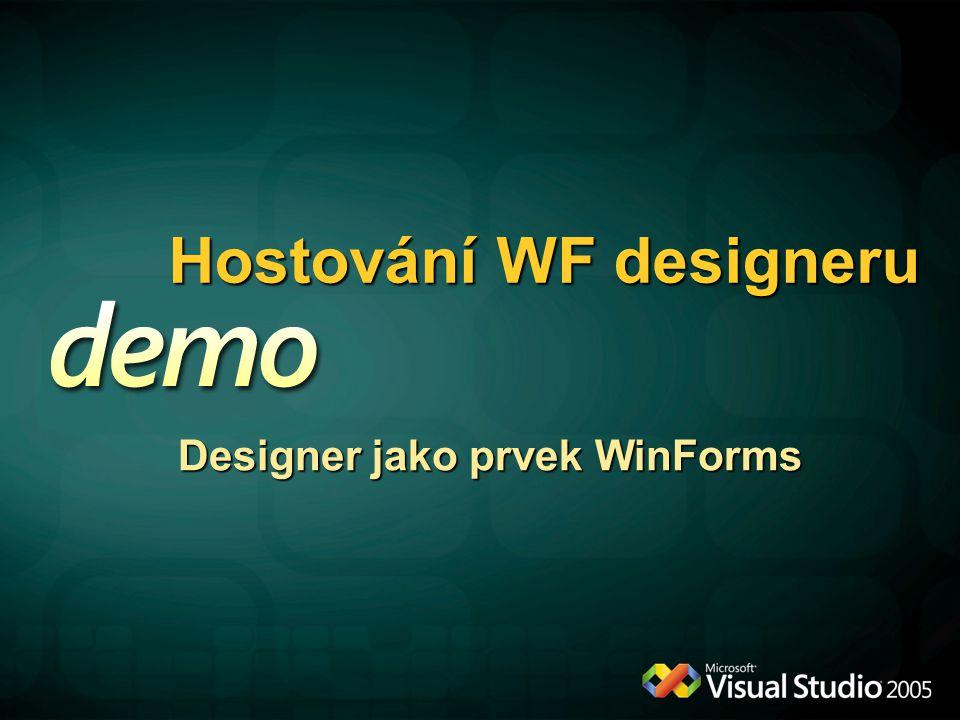 Hostování WF designeru