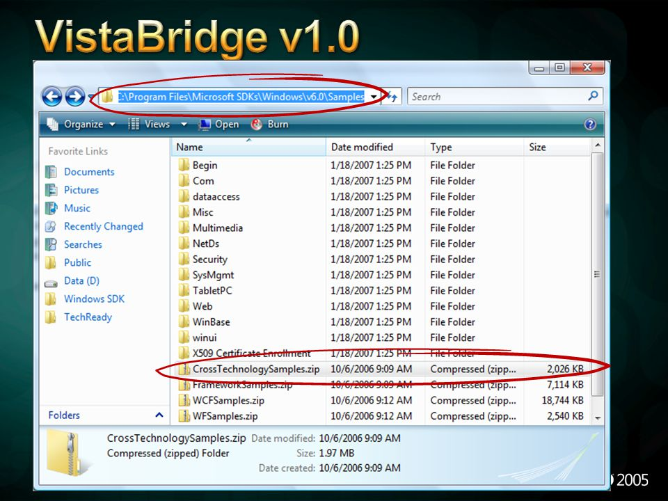 VistaBridge v1.0 4/6/2017 12:04 AM VistaBridge: Where can you find it