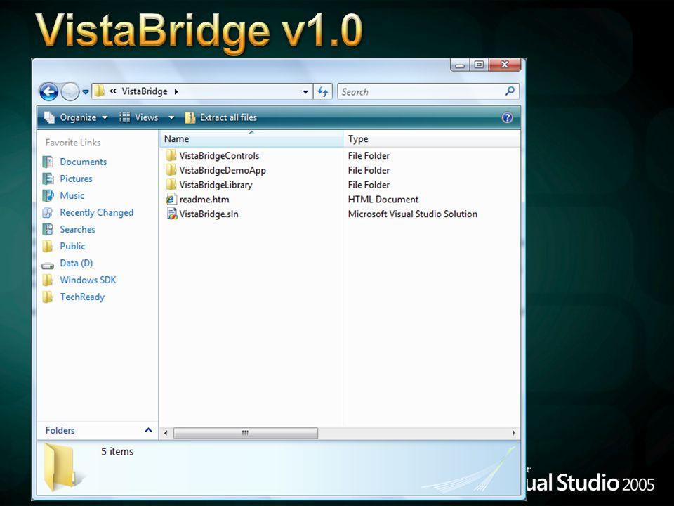 VistaBridge v1.0