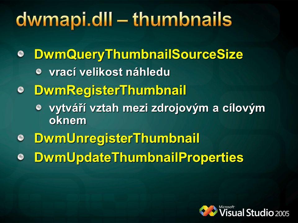 dwmapi.dll – thumbnails