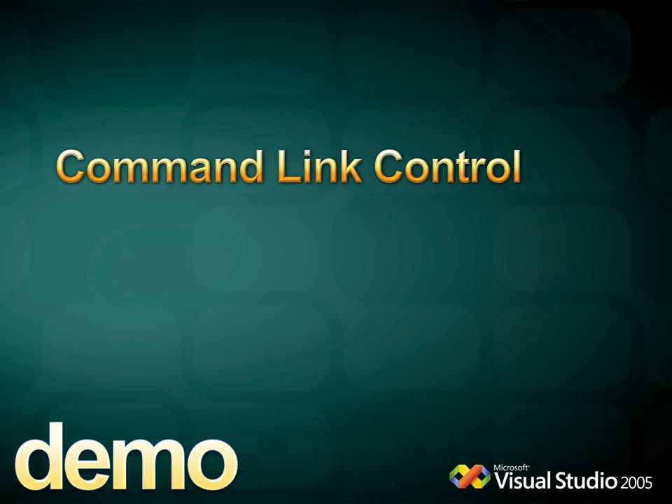 demo Command Link Control 4/6/2017 12:04 AM CommandLink