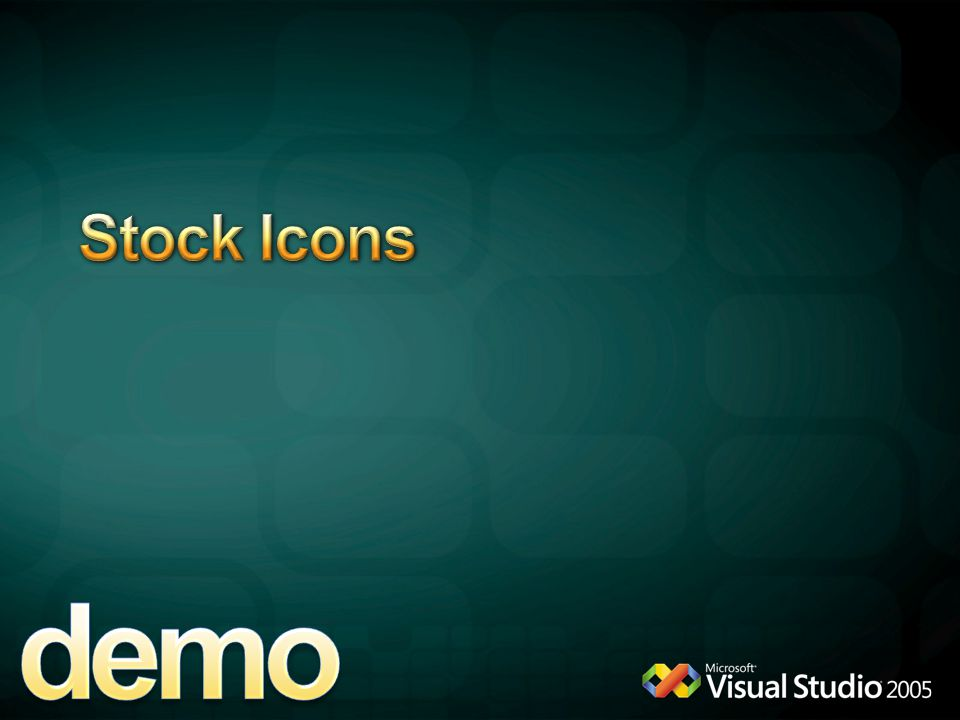 demo Stock Icons 4/6/2017 12:04 AM StockIcon Demo