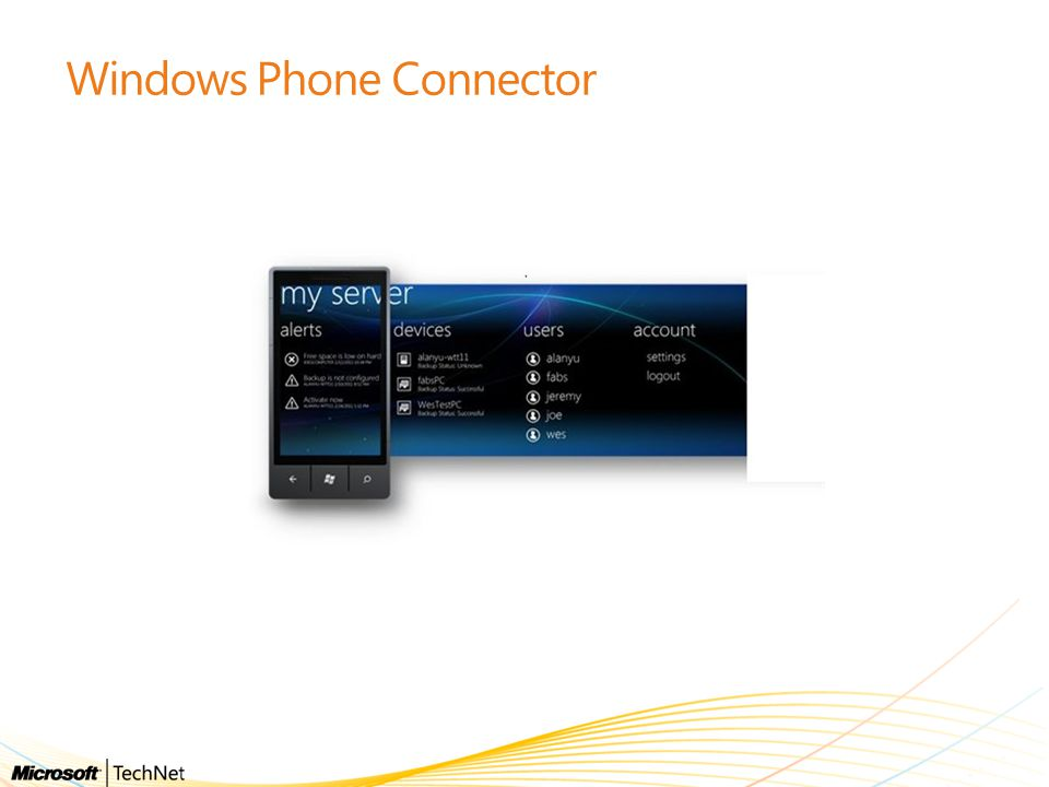 Windows Phone Connector
