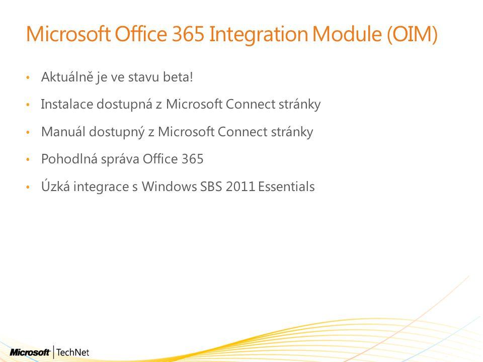 Microsoft Office 365 Integration Module (OIM)