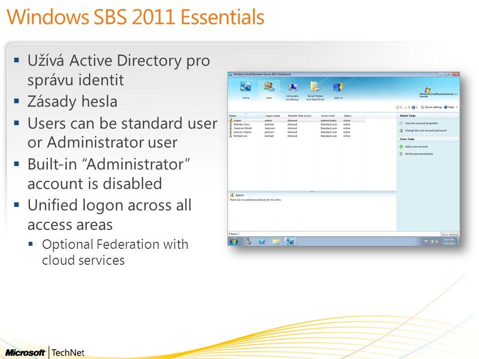 Windows SBS 2011 Essentials
