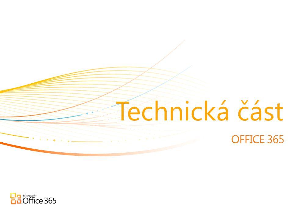 Technická část OFFICE 365