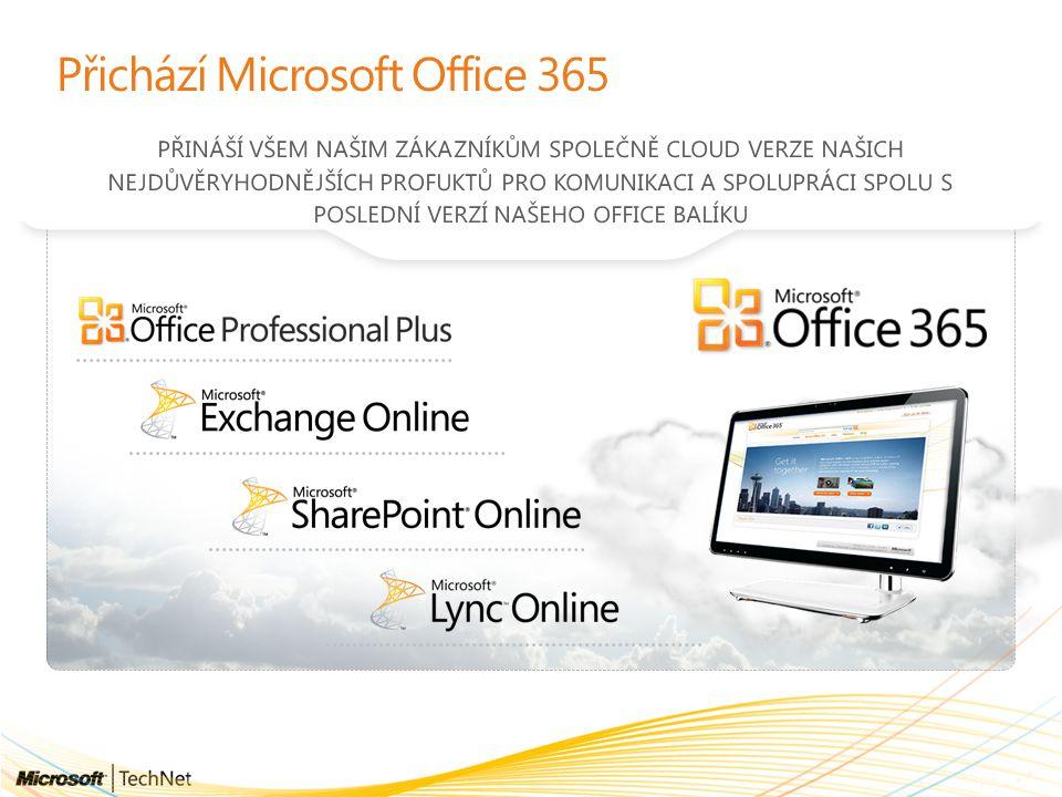 Přichází Microsoft Office 365